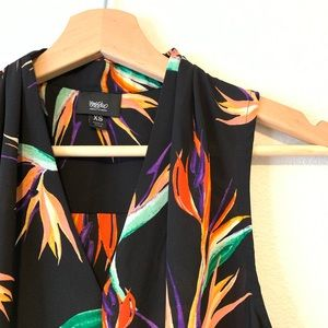 Mossimo Supply Co. Tops - Bird of Paradise Print Top